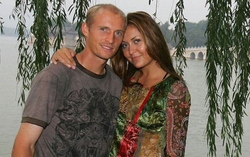 Irina Davydenko, wife of Nikolay Davydenko