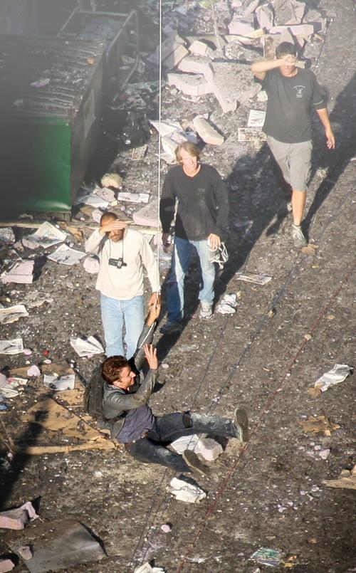 Stuntman for Michael Bay movies