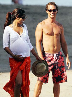 Matthew McConaughey & Camila Alves