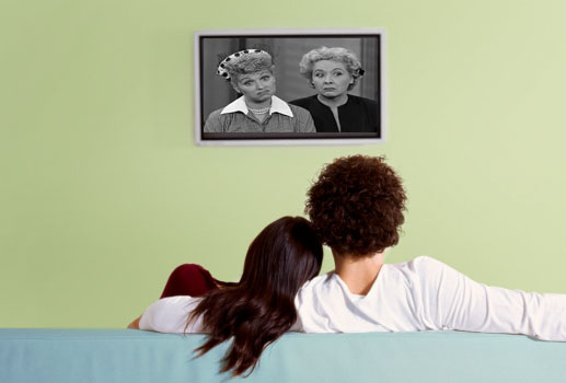 "Watch ""I Love Lucy"" In Bed"