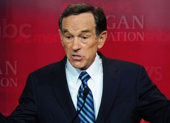 Ron Paul (With Rick Santorum Hair)