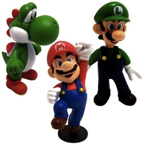 Mario, Luigi, and Yoshi