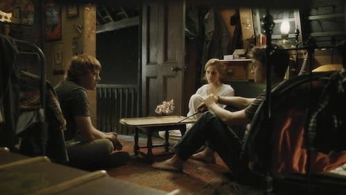 Harry, Ron, and Hermoine