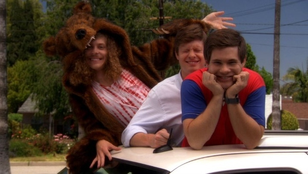 """Adam, Anders, and Blake from """" Workaholics """""""