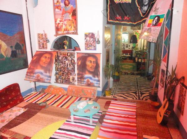 Luxor, Egypt: Bob Marley