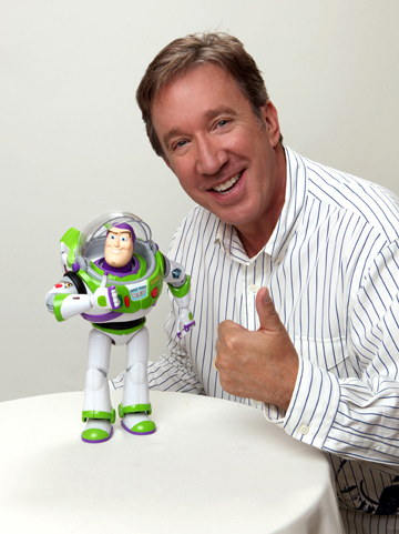 He was only paid $50,000 for his role as Buzz Lightyear in the original Toy Story .