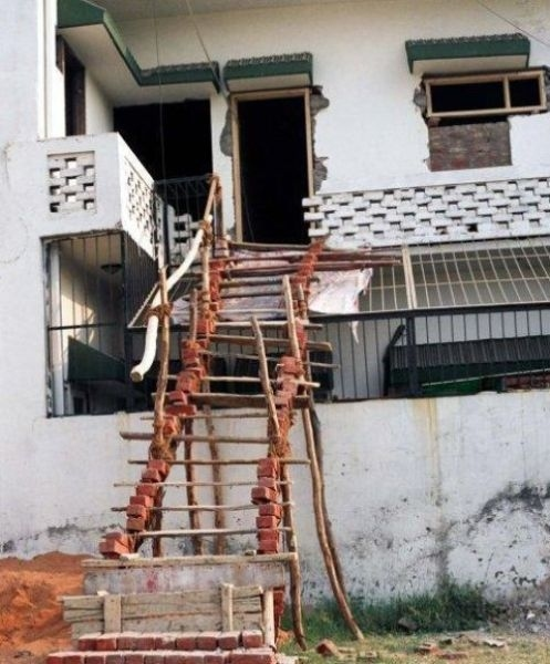 Totally safe stairway.