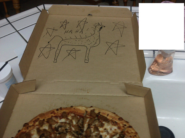 """Draw A Giraffe On The Box"""