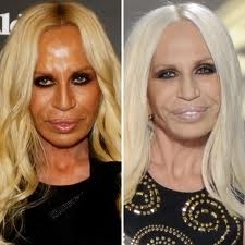 """The new look of Versace """"weathered and old"""""""
