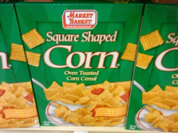 Square Shaped Corn