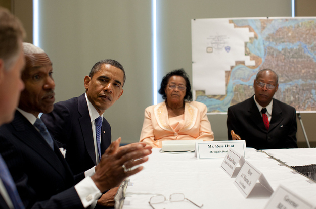 Barack Obama does not believe you caught a fish that big.  Source
