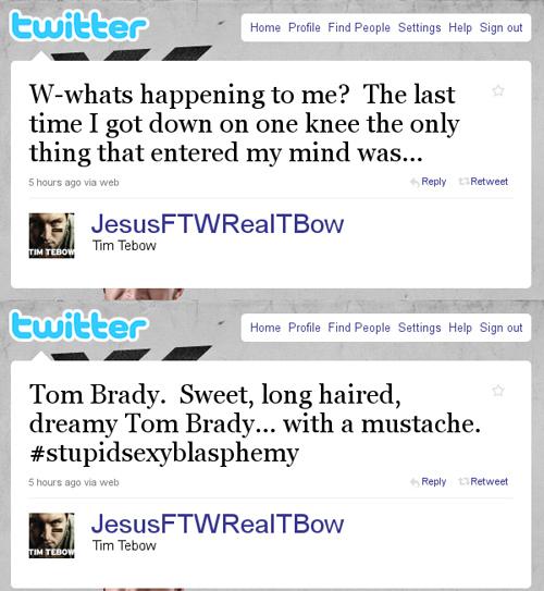 Tim Tebow's Latest Tweet
