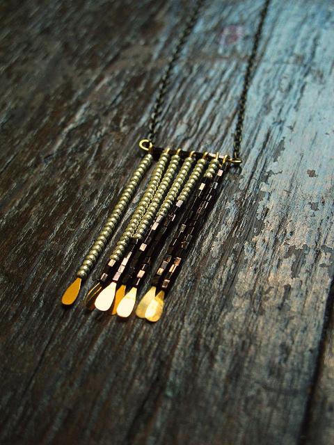 The Beaded Fringe Necklace
