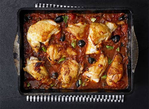 Buzzfeed food now has a nom button super basic bbcs chicken cacciatore this recipe from bbcx27s good food looks clear and easy not forumfinder Choice Image
