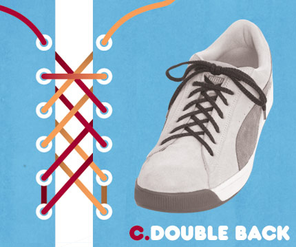 How to tie laces cool