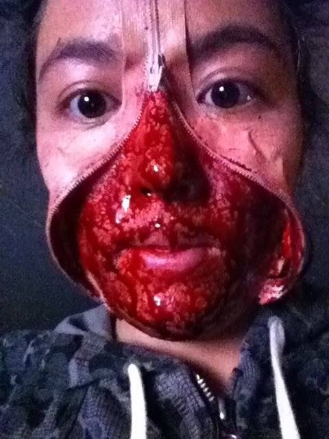 20 Awesome Zipper Faces For Halloween