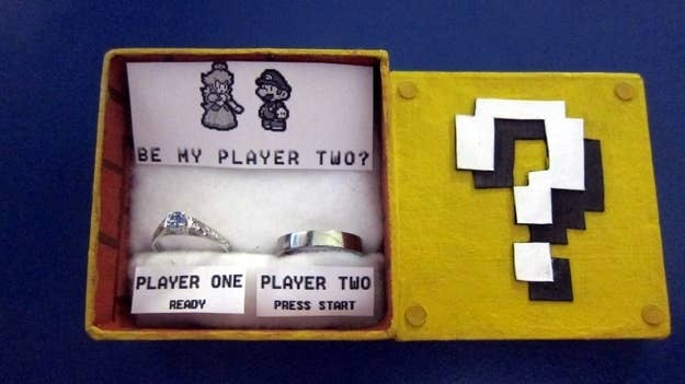 gamer wedding elegant rings weddings