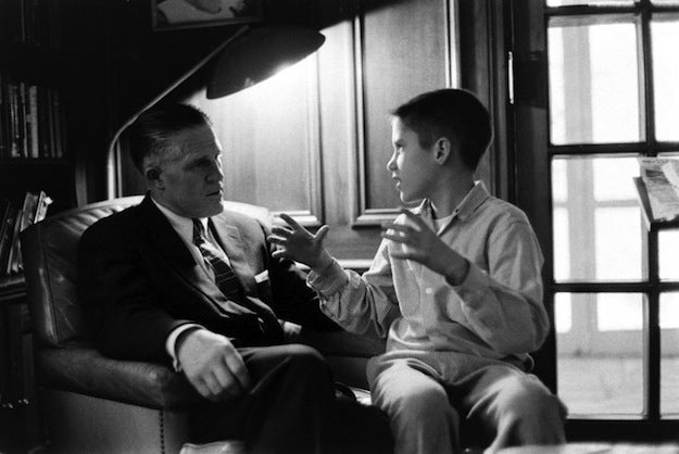 George and Mitt Romney, who would have been 11 years old, in 1958. Not originally published in LIFE.
