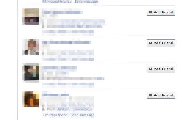 Invisible Facebook Friends Can See You, But You Can't See Them