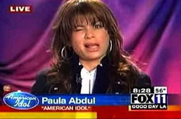 drunk Paula abdoul