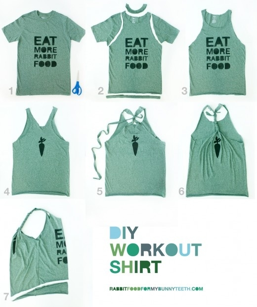 Captivating 2. Turn A T Shirt Into A Workout Tank