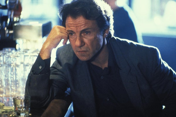 Director Abel Ferrara's cult classic is less a traditional feature film, and more a long string of heinous crimes committed my Harvey Keitel's immoral officer over a gut-churning hour and a half runtime. Originally NC-17, an R-rated version was eventually cobbled together for the home video circuit. It had a running time of eight minutes, including credits.