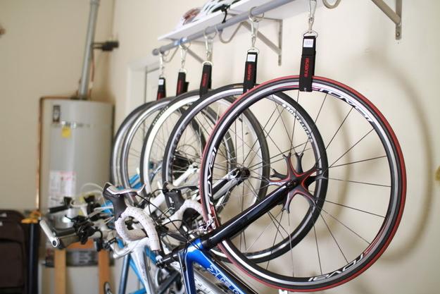 12 space saving bike rack solutions. Black Bedroom Furniture Sets. Home Design Ideas