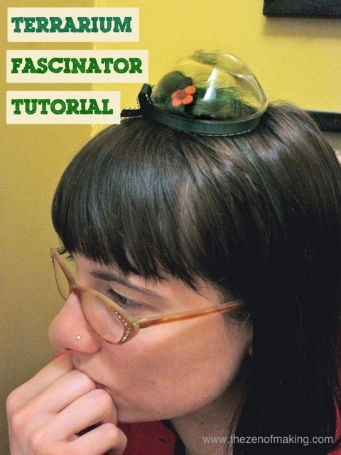 And...if you're feeling quirky, you could wear one on your head.Full tutorial here.