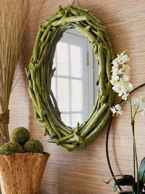 28. DIY Twigs Mirror