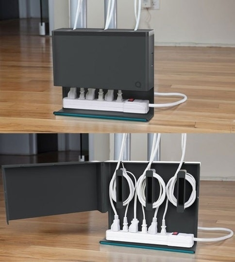 Get a cable organizer.