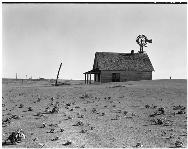 a history of the dust bowl area Title abandoned farm in the dust bowl area oklahoma contributor names rothstein, arthur, 1915-1985, photographer.