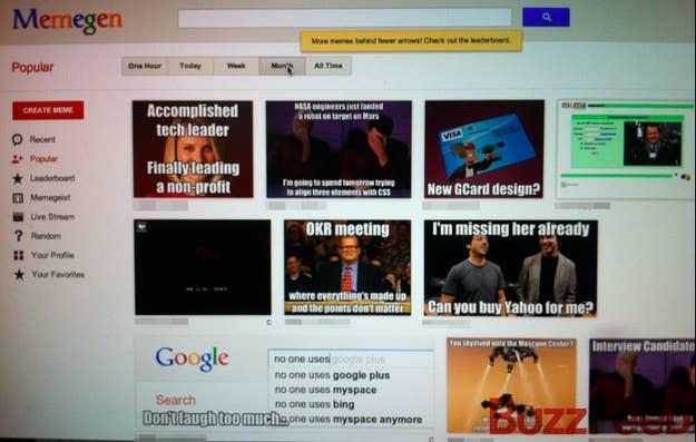 Inside Google's Internal Meme Generator