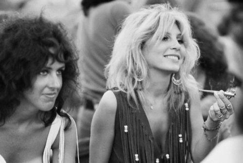 Woodstock 1969 Hippies Women
