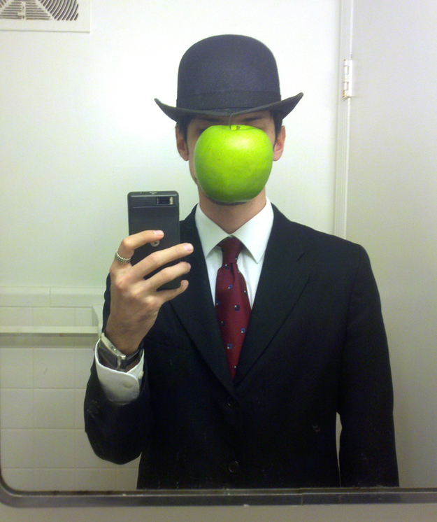 """Magritte's """"Son of Man"""""""