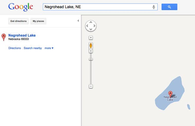 Formerly Niggerhead Lake
