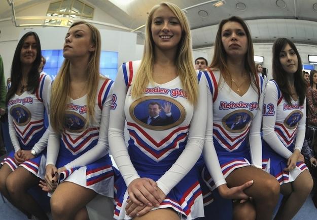 Russia: Medvedev Girls