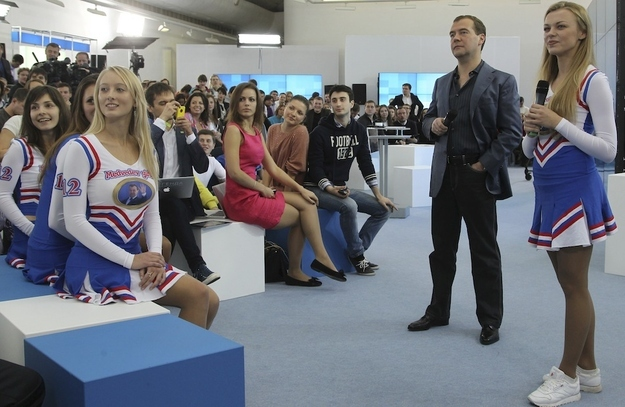 Medvedev Girls Stock Photos and Pictures | Getty Images