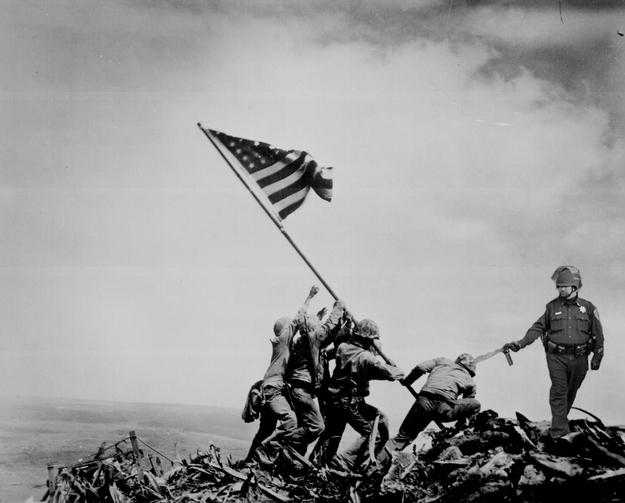 Occupy Iwo Jima