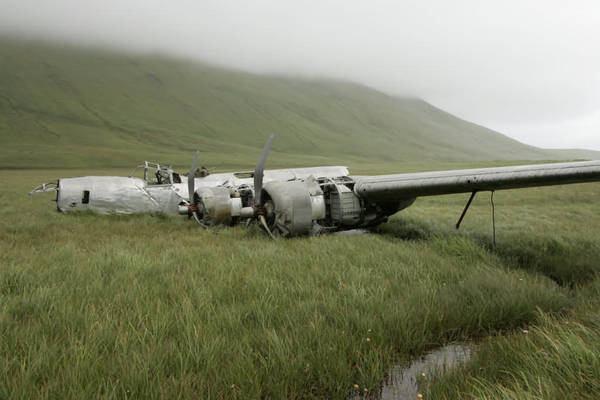 WWII aircraft in Atka, Alaska