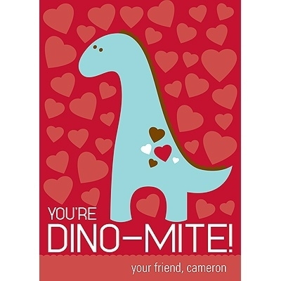 Dinosaur Themed Valentines Day Cards – Valentine Day Sayings for Cards