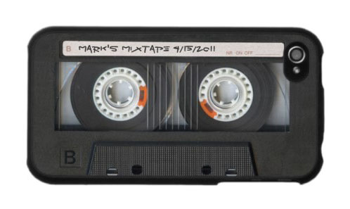 iPhone 4 / 4S Case: Vintage Mix Tape
