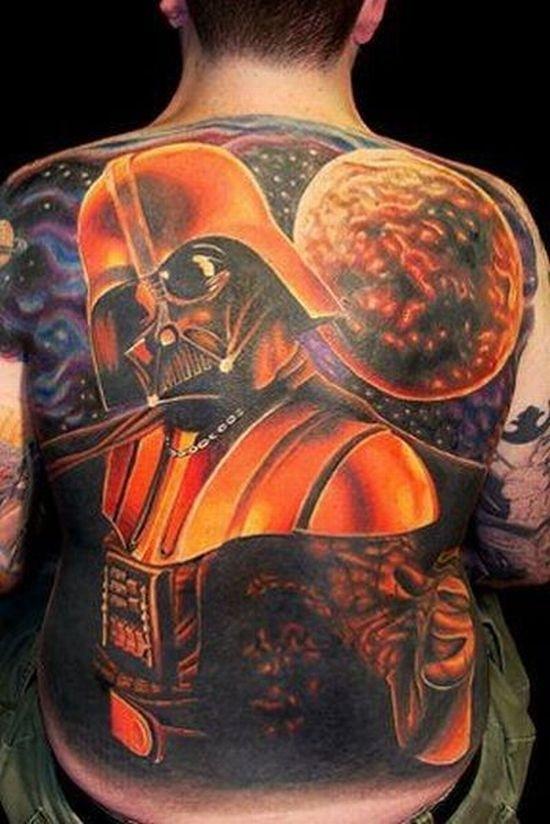 Orange Vader