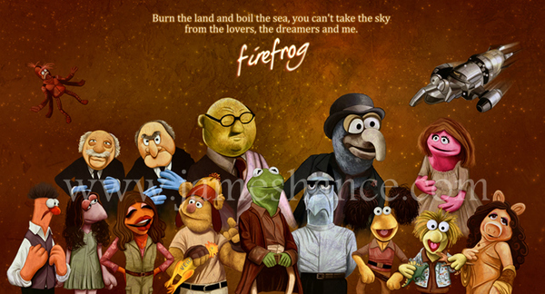 Muppet Firefly by James Hance
