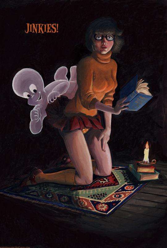 Casper and Velma by Jason Chalker