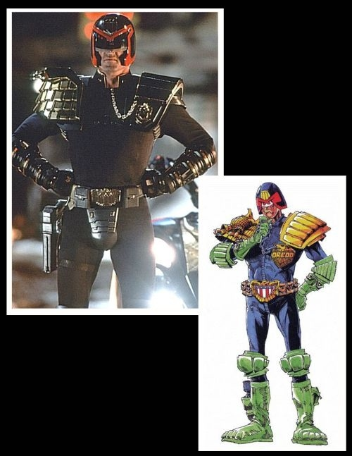 7. Judge Dredd