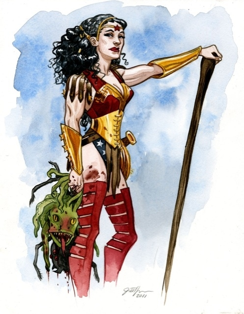Mythical Wonder Woman by Jill Thompson