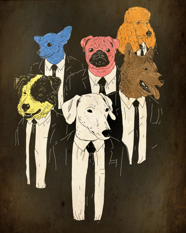 Resevoir Dogs by Jonah Block