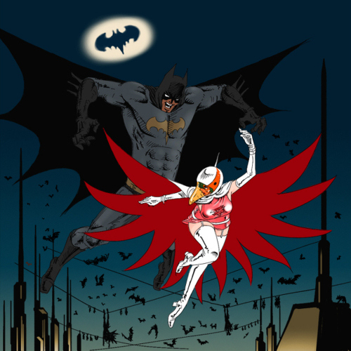 The Batman and the Princess by Unknown