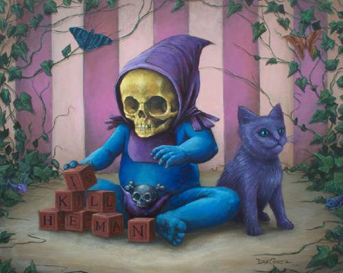 Baby Skeletor by Dave Correia