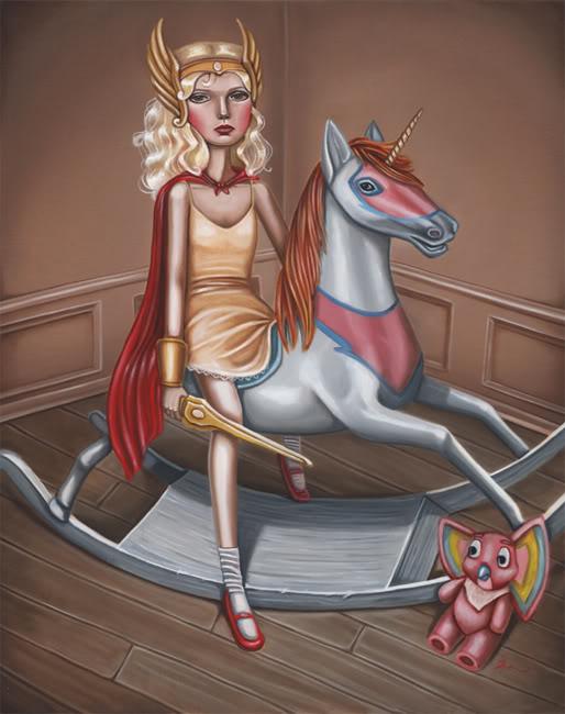 Little She-Ra by Audrey Pongracz
